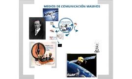 Copy of LOS MEDIOS DE COMUNICACIÓN