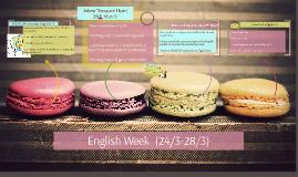 English Week  (24/3-28/3)