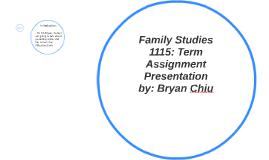 Family Studies 1115