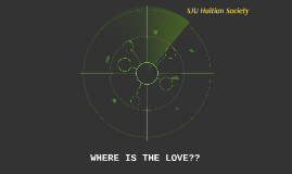 WHERE IS THE LOVE??