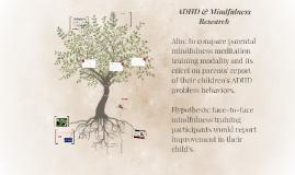 ADHD & Mindfulness
