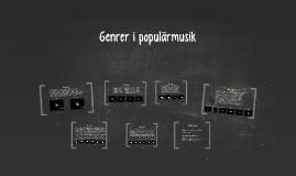Genrer i populärmusik