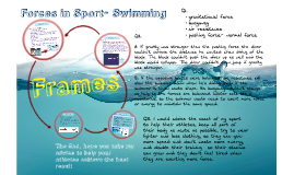 Forces in Sport- Swimming