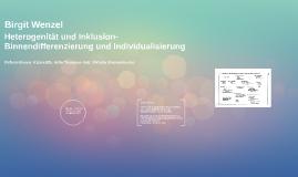 Heterogenität und Inklusion- Binnendifferenzierung und Indiv