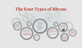 Copy of The Four Types of Rhyme