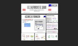 COORDINACIÓN DE FORMACIÓN/PREVENCIÓN