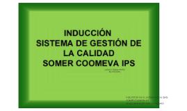 Copy of Inducción Sistema de Gestion de la Calidad