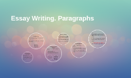 Essay Writing. Paragraphs