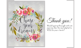 Vision Boards for Clients