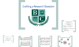 Civil Rights - Crafting a Research Question