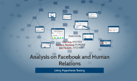 Analysis on Facebook and Human Relations
