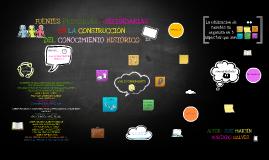Copy of FUENTES PRIMARIAS Y SECUNDARIAS EN LA CONSTRUCCIÓN DEL CONOC