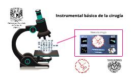 Copy of 3.1 Instrumental básico de cirugía
