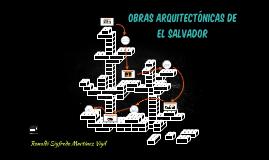 OBRAS ARQUITECTÓNICAS DE EL SALVADOR