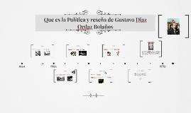 Copy of Copy of Sexenio de  Gustavo Diaz Ordaz