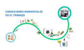 Condiciones ambientales en el trabajo Carmen