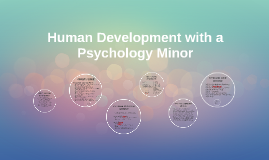 Human Development with a Psychology Minor