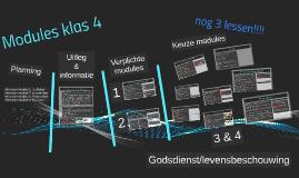 Modules klas 4