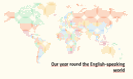Our year round the English-speaking world