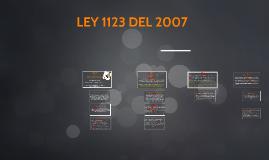 Copy of LEY 1123 DEL 2007