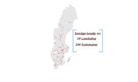 Sverige består av: