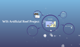 WIS Artificial Reef Project
