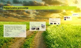 Poljoprivredna proizvodnja