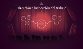 Dirección e inspección del trabajo
