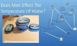 Copy of Does Mint Effect The Temperature Of Water?