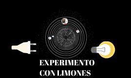 EXPERIMENTO CON LIMONES