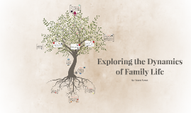 Exploring the Dynamics of Family Life