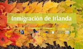 inmigración de irelandia