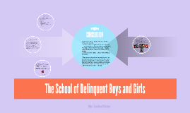 Delinquent Boys and Girls