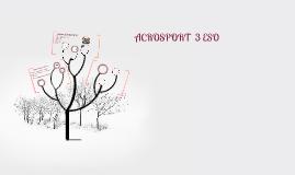 ACROSPORT  3º ESO