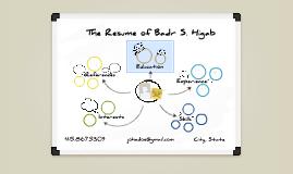White Board Prezumé by Badr Higab
