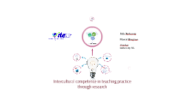 Intercultural comptence in teaching practice through research