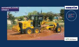 MOTONIVELADORA GD555-5