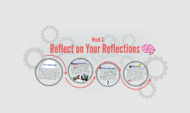 Reflect on Your Reflections