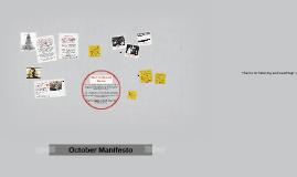 October Manifesto
