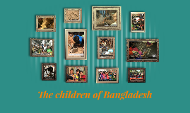 The children of Bangladesh