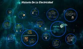 Copy of Historia de la Electricidad