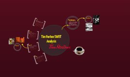 tim hortons swot analysis Competitve analysis tim hortons author: karen joyce i overview external environment: tim hortons competes in an unattractive industry characterized by.
