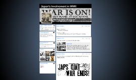 Japan's Involvement in WWII