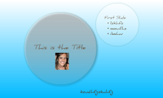 My First Try of Prezi