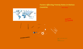 Factors Affecting Poverty Rates in Various Countries