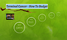Terminal Cancer - How To Budget