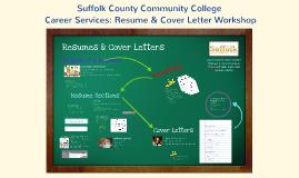 SCCC Resume & Cover Letter Composition