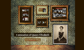 Coronation of Queen Elizabeth
