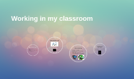Working in my classroom