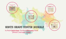 Ninth Grade Center Murals